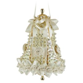 Medium Wedding Bell Ivory/Gold