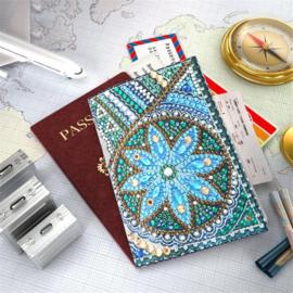 Paspoort cover met een ster