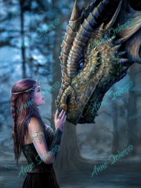 Once Upon A Time - Anne Stokes Collection - 40 x 50 cm