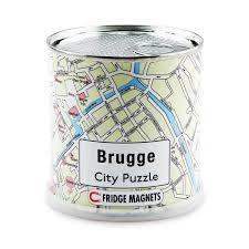 Magneet puzzel Brugge