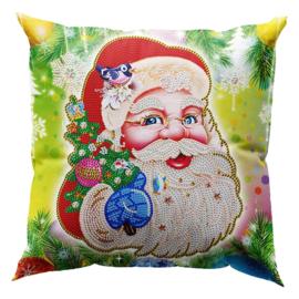 Kussenhoes - Kerstman