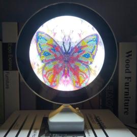 Spiegel/lamp - vlinder