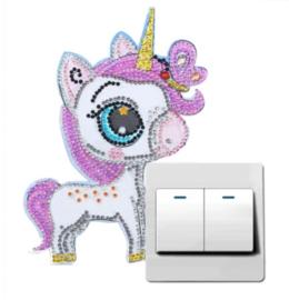 Light switch sticker Pony