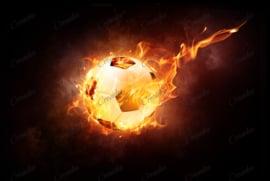 Voetbal - 40 x 50 cm