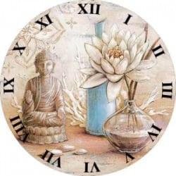 Klok met Buddha