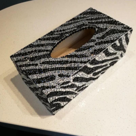 Tissue box Zebra