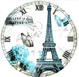 Horloge avec tour Eiffel