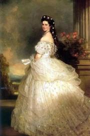Keizerin van Oostenrijk - Sisi - Franz Xaver Winterhalter - 40 x 60 cm