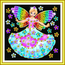 Sequin Art 60 Fairy Princess