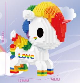 Diamond bricks - love eenhoorn