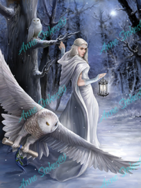 Midnight Messenger - Anne Stokes Collection