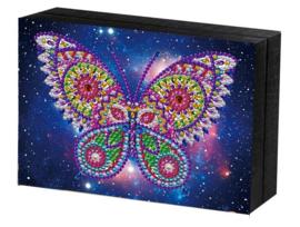 Juwel doos met een vlinder