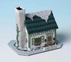 Winter Village - Mistletoe Cottage