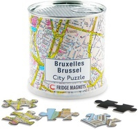 Magneet puzzel Brussel