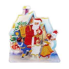 3D puzzel- Kerstman