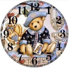 Horloge avec ours