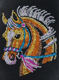 Sequin Art Horse