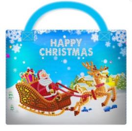 DIY Christmas decoration Kerstman en rendier