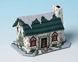 Winter Village - Christmas Tree Cottage