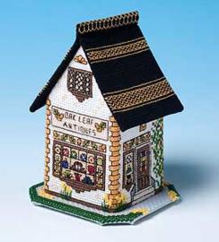 Miniature Shops - The Antique Shop - Oak Leaf Antiques
