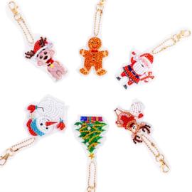 6 Kerstfiguren