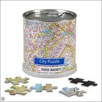 Magnetische city en world puzzels