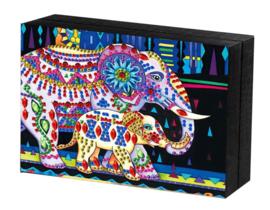 Juwel doos met een olifant