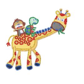 Light switch sticker Giraffe