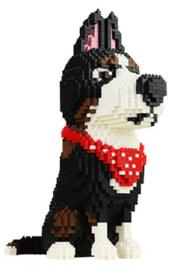 Diamond bricks - Stoere hond