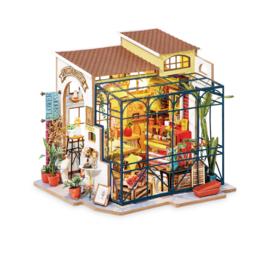 Rolife Emily's Flower Shop