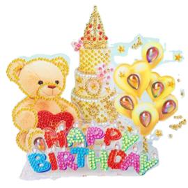 3D puzzel- Happy Birthday
