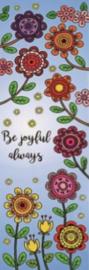 Bladwijzer - Be joyful