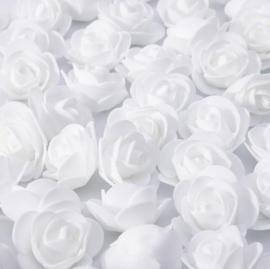 Witte roosjes