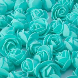 Turquoise roosjes