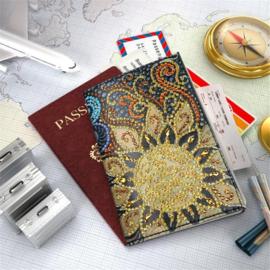 Paspoort cover met de zon