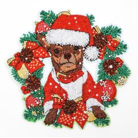 Wreath/Lauwerkrans - hond