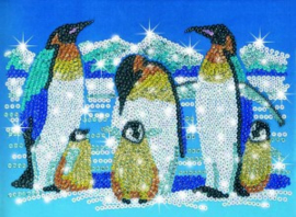 Sequin Art & Beads Penguins
