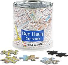 Magneet puzzel Den Haag