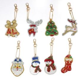 8 Kerstfiguren