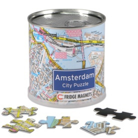Magneet puzzel Amsterdam
