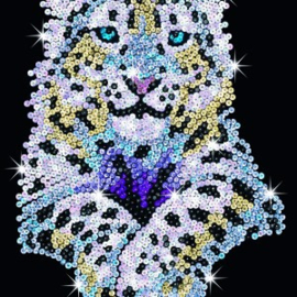 Sequin Art Snow Leopard