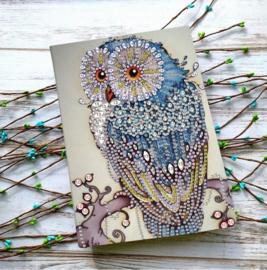 Notebook Blauwe Uil