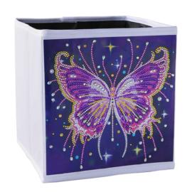 Opbergbak - vlinder
