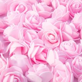 Licht roze roosjes