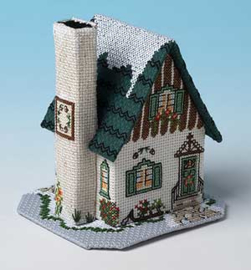 Winter Village - Pine Cone Cottage