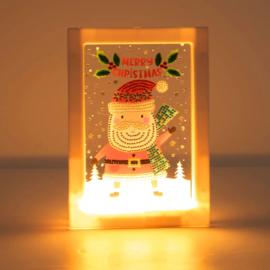 Lampje - Kerstman
