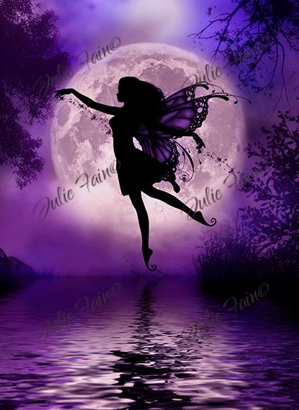 Midnight stroll by Julie Fain