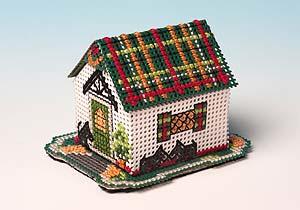 Paper Town - Tartan Cottage