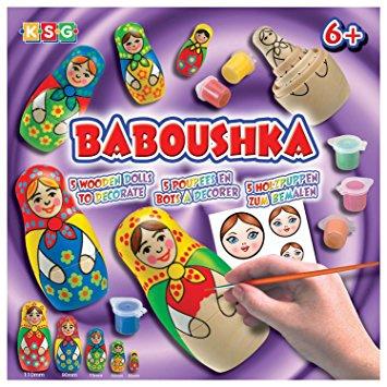 Arts and Crafts babushka