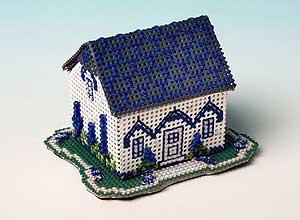 Paper Town -  Delphinium Cottage
